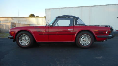 1976 Triumph TR6 for sale at Classic Connections in Greenville NC