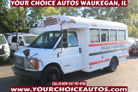 2002 GMC Savana Cutaway for sale at Your Choice Autos - Waukegan in Waukegan IL