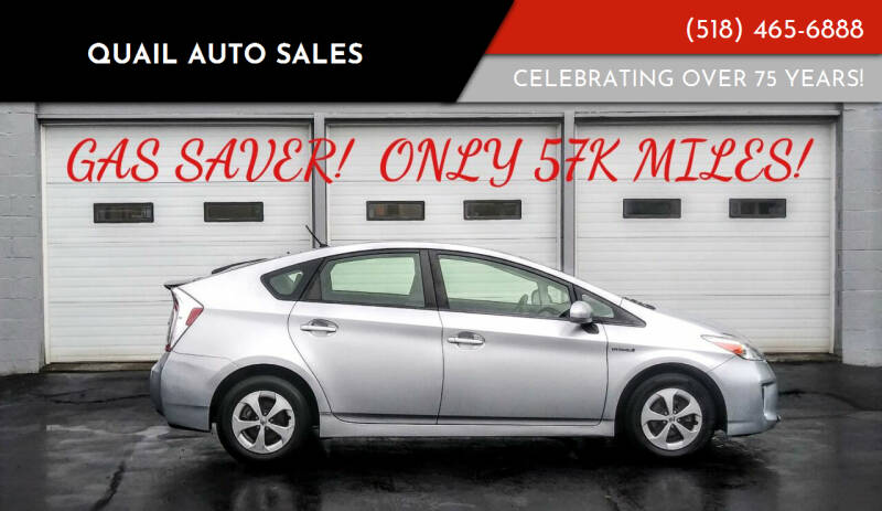 2014 Toyota Prius for sale at Quail Auto Sales in Albany NY