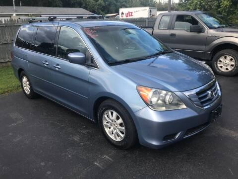 2008 Honda Odyssey for sale at RJD Enterprize Auto Sales in Scotia NY