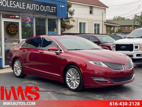 2013 Lincoln MKZ for sale at MWS Wholesale  Auto Outlet in Grand Rapids MI