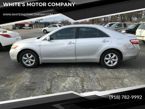 2009 Toyota Camry for sale at WHITE'S MOTOR COMPANY in Langley OK