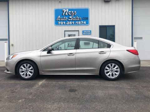 2015 Subaru Legacy for sale at NESS AUTO SALES in West Fargo ND