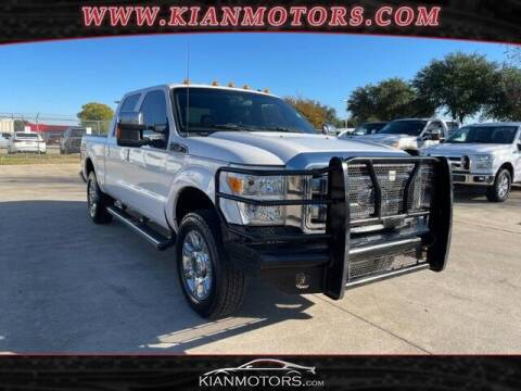 2014 Ford F-250 Super Duty for sale at KIAN MOTORS INC in Plano TX