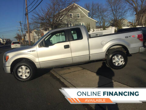 2011 Ford F-150 for sale at New Jersey Auto Wholesale Outlet in Union Beach NJ