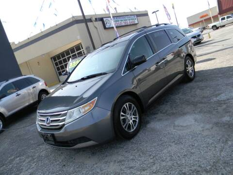 2011 Honda Odyssey for sale at Meridian Auto Sales in San Antonio TX