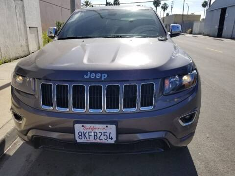 2015 Jeep Grand Cherokee for sale at Ournextcar/Ramirez Auto Sales in Downey CA