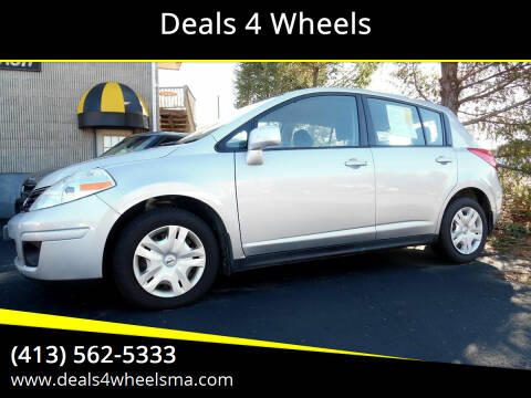 2012 Nissan Versa for sale at Deals 4 Wheels in Westfield MA