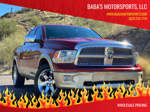 2012 RAM Ram Pickup 1500 for sale at Baba's Motorsports, LLC in Phoenix AZ