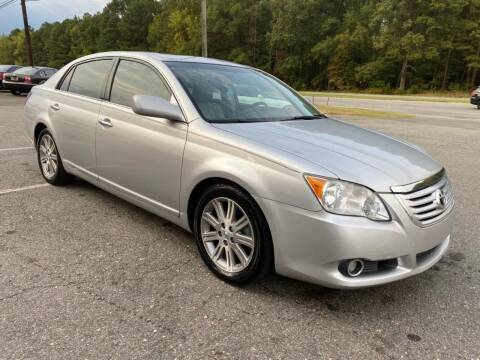 2008 Toyota Avalon for sale at CVC AUTO SALES in Durham NC