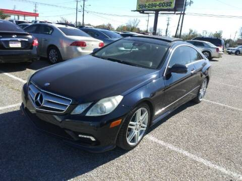 2010 Mercedes-Benz E-Class for sale at 2nd Chance Auto Sales in Montgomery AL