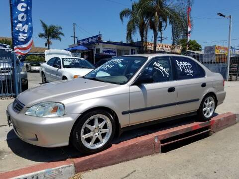 2000 Honda Civic for sale at Olympic Motors in Los Angeles CA