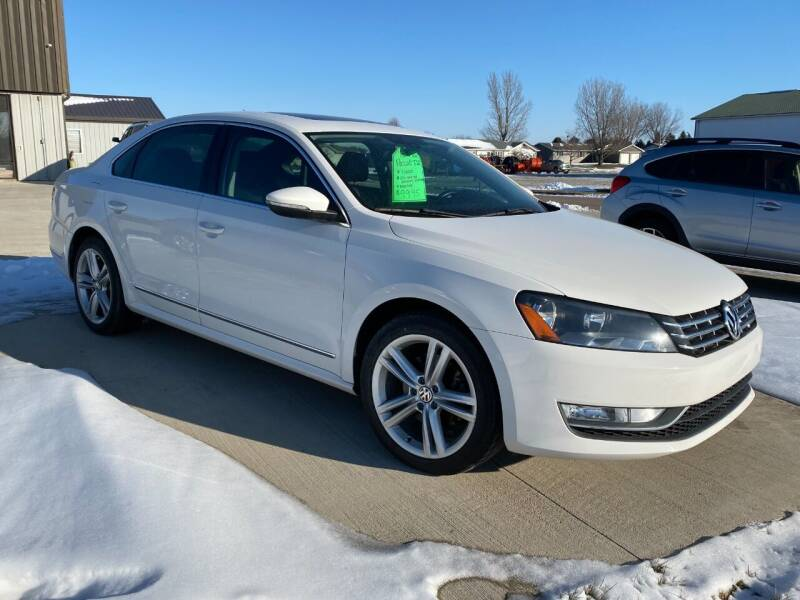2012 Volkswagen Passat for sale at GLIDDEN CAR CORNER in Glidden IA