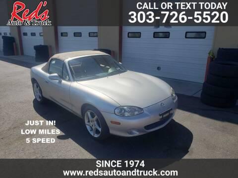 2001 Mazda MX-5 Miata for sale at Red's Auto and Truck in Longmont CO
