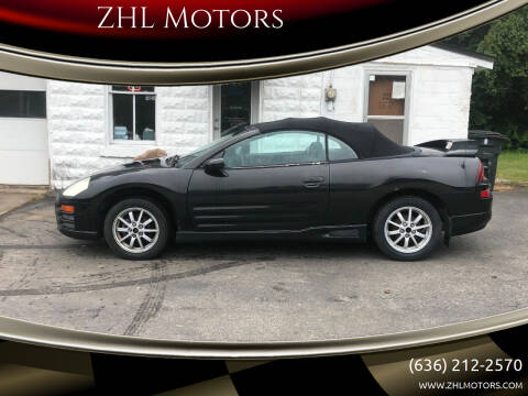 2001 Mitsubishi Eclipse for sale at ZHL Motors in House Springs MO