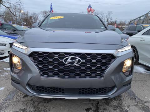 2019 Hyundai Santa Fe for sale at Nasa Auto Group LLC in Passaic NJ