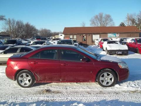 2010 Pontiac G6 for sale at BRETT SPAULDING SALES in Onawa IA