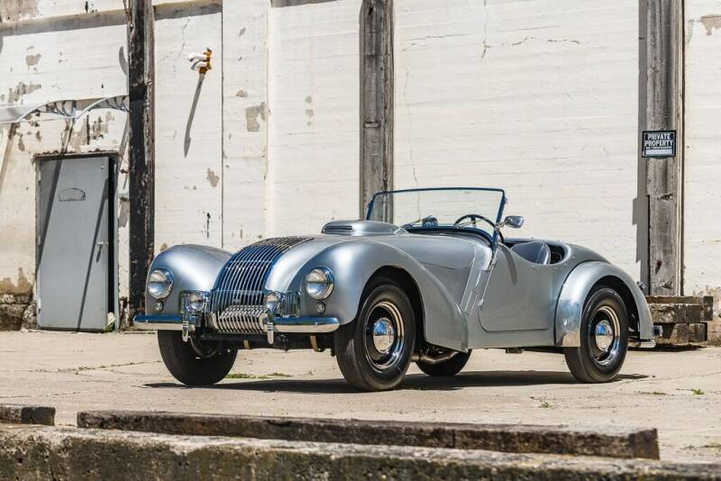 1950 Allard K1/K2 for sale at Great Lakes Classic Cars & Detail Shop in Hilton NY