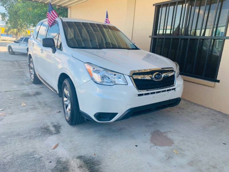 2014 Subaru Forester for sale at Eastside Auto Brokers LLC in Fort Myers FL