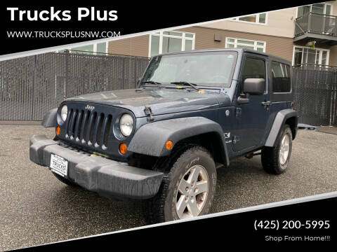 2007 Jeep Wrangler for sale at Trucks Plus in Seattle WA