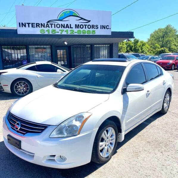 2012 Nissan Altima for sale at International Motors Inc. in Nashville TN