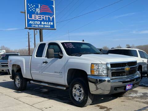 2008 Chevrolet Silverado 2500HD for sale at Liberty Auto Sales in Merrill IA