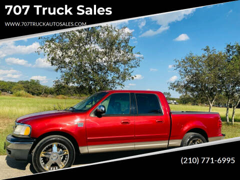 2001 Ford F-150 for sale at 707 Truck Sales in San Antonio TX