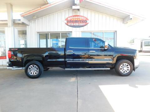 2017 Chevrolet Silverado 3500HD for sale at Motorsports Unlimited in McAlester OK