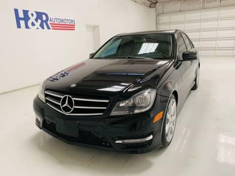 2014 Mercedes-Benz C-Class for sale at H&R Auto Motors in San Antonio TX