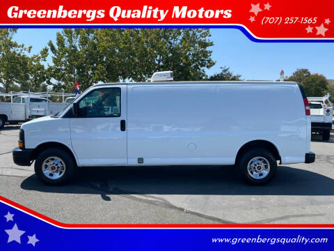 2015 GMC Savana Cargo for sale at Greenbergs Quality Motors in Napa CA