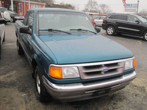 1995 Ford Ranger for sale at Zinks Automotive Sales and Service - Zinks Auto Sales and Service in Cranston RI