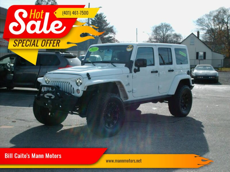 2015 Jeep Wrangler Unlimited for sale at Bill Caito's Mann Motors in Warwick RI