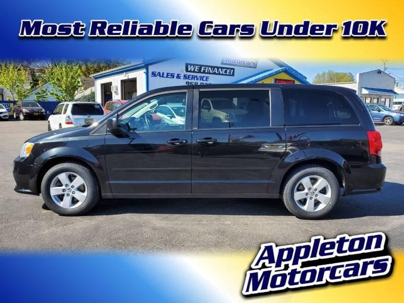 2013 Dodge Grand Caravan for sale at Appleton Motorcars Sales & Service in Appleton WI