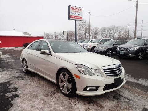 2011 Mercedes-Benz E-Class for sale at Marty's Auto Sales in Savage MN