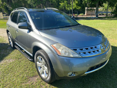 2007 Nissan Murano for sale at Carlyle Kelly in Jacksonville FL