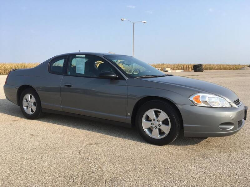 2007 Chevrolet Monte Carlo for sale at Kuhn Enterprises, Inc. in Fort Atkinson IA