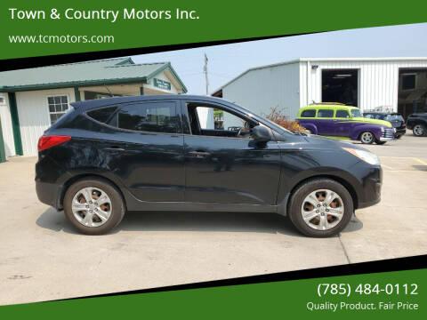 2013 Hyundai Tucson for sale at Town & Country Motors Inc. in Meriden KS