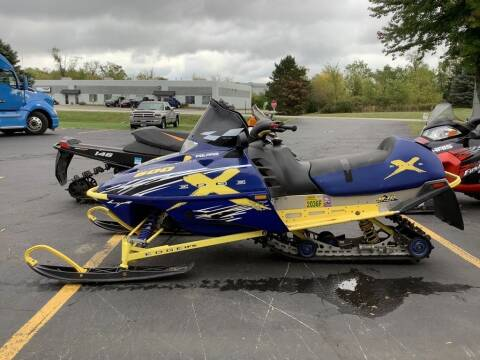 2002 Polaris 600 EDGE X for sale at Road Track and Trail in Big Bend WI