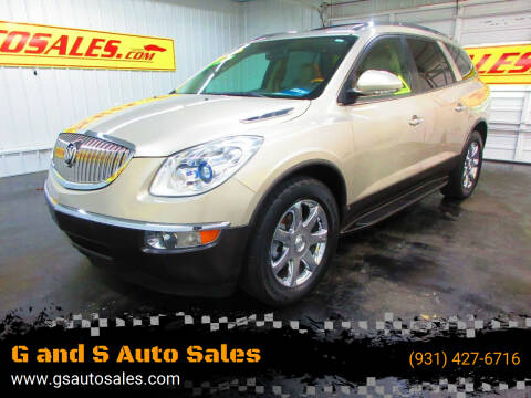 2010 Buick Enclave for sale at G and S Auto Sales in Ardmore TN