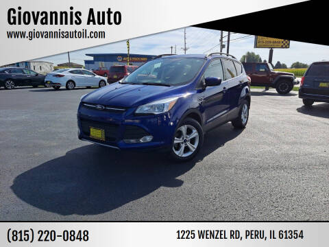 2016 Ford Escape for sale at Giovannis Auto in Peru IL