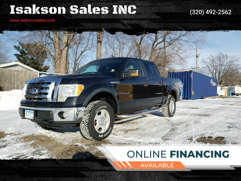 2010 Ford F-150 for sale at Isakson Sales INC in Waite Park MN
