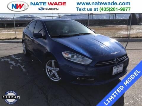 2014 Dodge Dart for sale at NATE WADE SUBARU in Salt Lake City UT