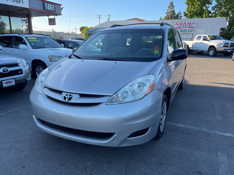 2007 Toyota Sienna for sale at Adams Auto Sales in Sacramento CA