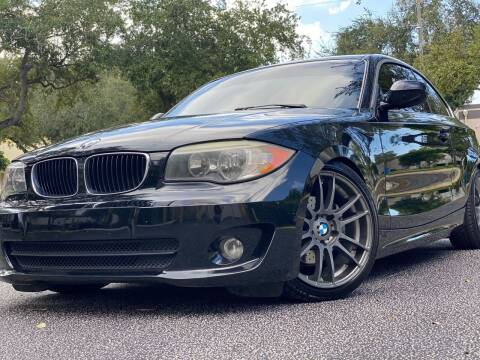 2012 BMW 1 Series for sale at HIGH PERFORMANCE MOTORS in Hollywood FL