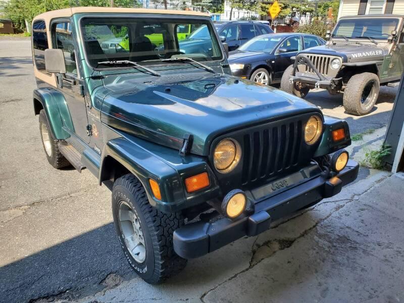 2000 Jeep Wrangler for sale at MX Motors LLC in Ashland MA