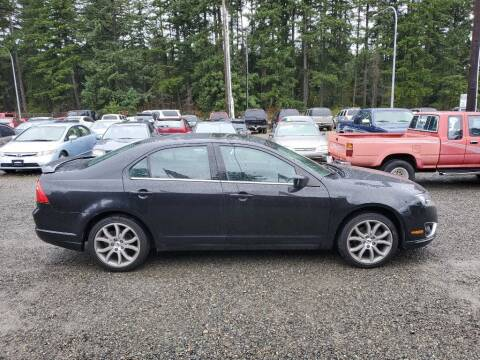 2012 Ford Fusion for sale at WILSON MOTORS in Spanaway WA