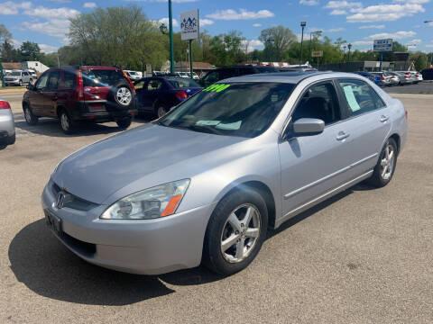 2005 Honda Accord for sale at Peak Motors in Loves Park IL