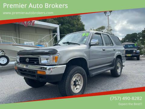 1995 Toyota 4Runner for sale at Premier Auto Brokers in Virginia Beach VA
