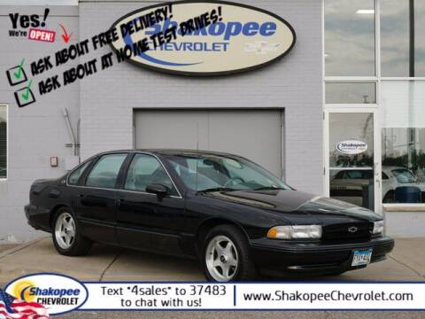 1994 Chevrolet Impala for sale at SHAKOPEE CHEVROLET in Shakopee MN