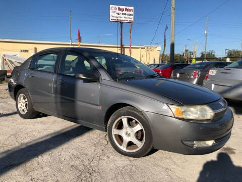 2004 Saturn Ion for sale at Mego Motors in Orlando FL